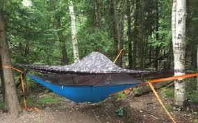 tentsile flite tree tent camping in the trees geekdad