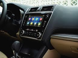 subaru legacy custom interior subaru adds apple carplay support to upcoming 2018 legacy