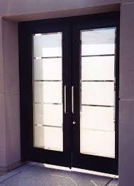 Etched Glass Exterior Doors Decorative Etched Glass Interior Doors Are Contemporary Interior
