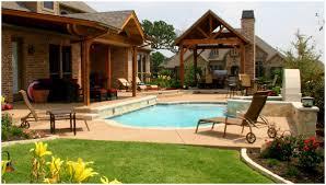 backyards cozy backyard above ground pool landscaping ideas
