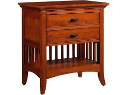 cresent fine furniture bedroom modern shaker nightstand 1312