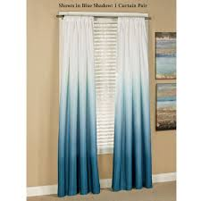 shades ombre curtains blue curtains ombre curtains and room ideas