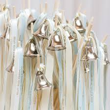ribbon wands diy wedding bell ribbon wand kit set of 12 wands