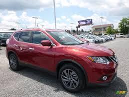 Nissan Rogue Awd - 2016 cayenne red nissan rogue sl awd 114050023 gtcarlot com