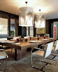 Modern Dining Room Table With Bench Dining Room Chandelier Italian Contemporary Tables Centerpieces