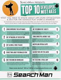 android optimizing app top 10 developer mistakes tips for mobile seo in play andr
