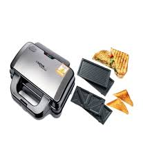 nova nsm 2416 2 in 1 changeable panini grill grey price in india