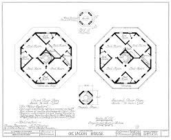 octogon house file watertown octagon house upper plans png wikimedia commons