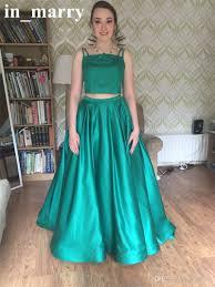 simple graduation dresses two pieces cheap simple 2k17 prom dresses with pockets a line plus