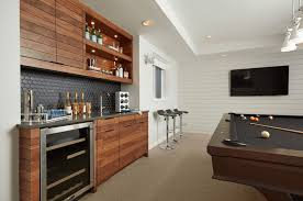 Bar Cabinet Modern Furniture Contemporary Basement Bar Cabinets With Granite