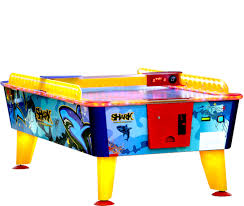 outdoor air hockey table kalkomat shark air hockey table