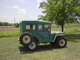 willys jeep truck green m38 willys jeep artic top