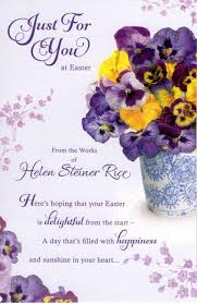 easter greeting cards helen steiner rice just for you easter greeting card cards