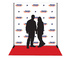 custom photo backdrops sign etc banners backgrounds promotional displays