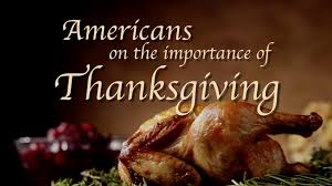 americans on the importance of thanksgiving