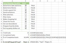 insert checkbox in excel create interactive checklist or to do list