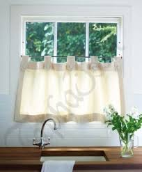 Vermont Country Kitchen - insulated tab curtains foter