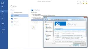 format download in ms word 2013 behold first look at office 2013 with screenshots the register