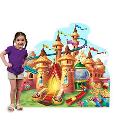 candyland castle candy land candy castle standee stumps