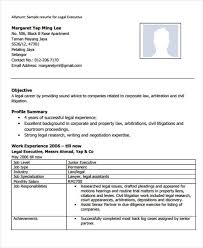 Corporate Attorney Resume Sample by Legal Resumes 7 Free Word Pdf Format Download Free U0026 Premium