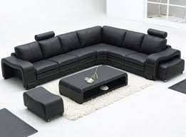Unique Leather Sofa Black Sectional Sofa 73 Contemporary Sofa Inspiration With