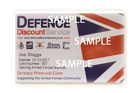 armed forces discount card launched in time for gov uk