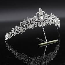 bride necklace images Fashion crystal wedding bridal jewelry sets tiara crown earring jpg