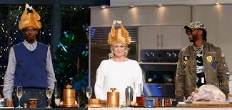 thanksgiving dinner martha stewart martha stewart and snoop dogg are tv u0027s most unlikely duo new