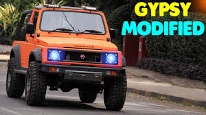thar jeep modified in kerala top 5 maruti suzuki gypsy modified best ever maruti suzuki
