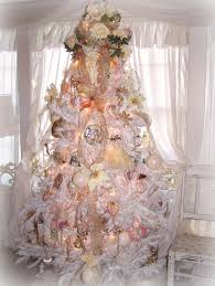 White Christmas Decorations Large by Olivia U0027s Romantic Home Shabby Chic White Christmas Tree