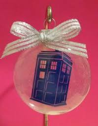 dr who ornament yes doctor who