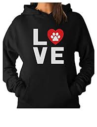amazon com teestars animal lover dog paw print love dogs my