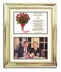 golden wedding anniversary gifts wedding anniversary gift in gold 8x10 frame