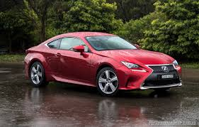 lexus rc 2016 lexus rc 200t review video performancedrive