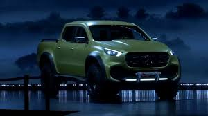 mercedes pickup truck all new 2018 mercedes x class pick up truck youtube