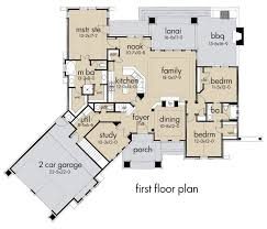Craftsman Style Homes Floor Plans 342 Best New Home Plans Images On Pinterest House Floor Plans