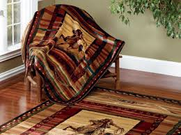 Southwestern Throw Rugs Images Of United Weavers Genesis Rawhide Western Cowboy Riding