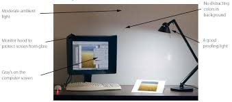 Computer Desk Light by Color Management In Digital Photography Create A Good Work