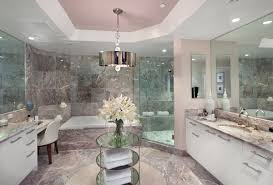 marble bathrooms stunning luxurious long gray french master