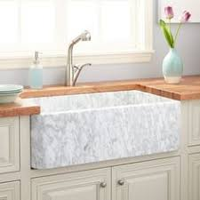 solid surface farmhouse sink highpoint collection 30 inch solid surface reversible farmhouse sink