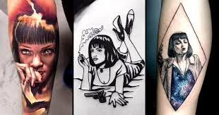 20 fierce mia wallace tattoos to overdose on tattoodo