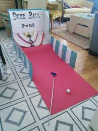 skee ball table plans skee ball minigolf game made from a cardboard box fun for party s