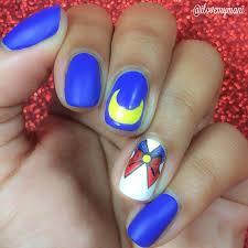 nerdy nail art u2013 sailor moon batman minions harry potter