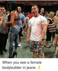 Female Bodybuilder Meme - 25 best memes about female bodybuilder female bodybuilder memes