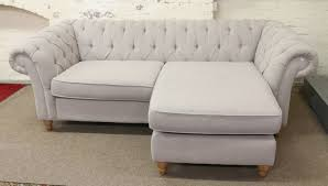 Corner Chesterfield Sofa by A Chesterfield L Shaped Corner Sofa Upholstered In Deep Buttoned