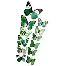 12pcs 3d butterfly wall decor stickers for living room bedroom