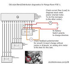 car wiring blend motor diag toyota land rover range p38 radio
