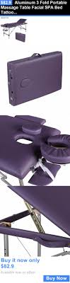 fold up massage table for sale massagers aluminum 3 fold portable massage table spa bed
