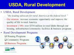 Usda Rural Housing Service Usda Rural Development Business Programs Energy Program Brian