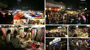 shopping under the moon 7 night markets around bangkok siam2nite